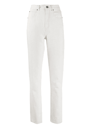 Isabel Marant High-rise skinny jeans - White