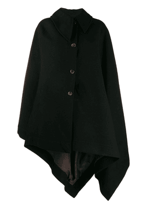 Vivienne Westwood oversized cape coat - Black