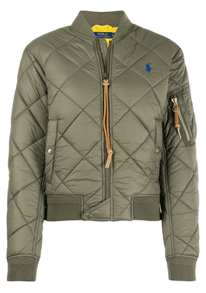 Polo Ralph Lauren quilted bomber jacket - Green