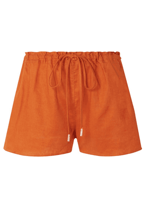 Cult Gaia - Sissi Linen Shorts - Bright orange