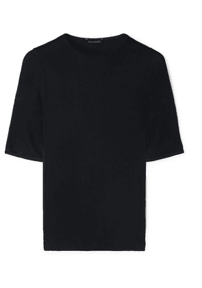 Goldsign - The Bound Ribbed Stretch-jersey T-shirt - Navy