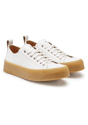 ami Leather Low Tops