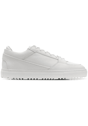 Etq. low-top panel sneakers - White