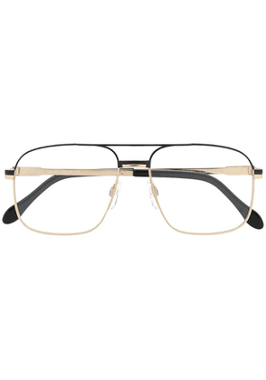 Cazal oversized glasses - Gold
