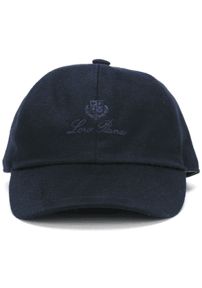 Loro Piana embroidered logo cap - Blue