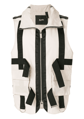 Blood Brother Four dials gilet - Oatmeal