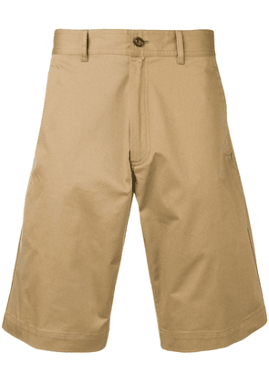 Moncler classic chino shorts - Neutrals