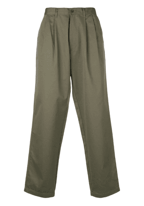 E. Tautz loose fit chinos - Green