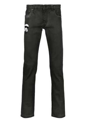 Fendi Karlito slim fit jeans - Black