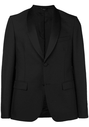 Fendi shawl lapel blazer - Black