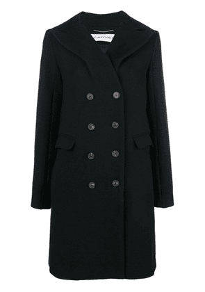 Carven double breasted coat - Black