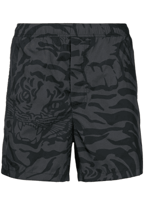 Valentino Tiger Camouflage swim shorts - Grey