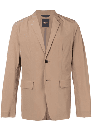 Theory classic single-breasted blazer - Neutrals