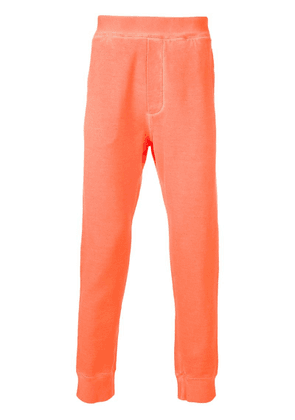 Dsquared2 elasticated-waist sweatpants - Orange
