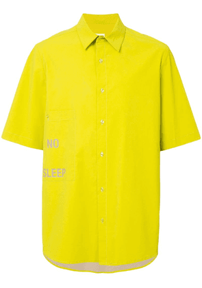 Ex Infinitas No Sleep short sleeve shirt - Yellow