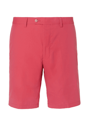 Dunhill Links - Twill Golf Shorts - Red