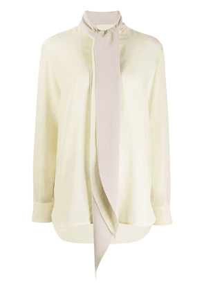 Givenchy tie neck blouse - Yellow