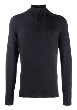 Loro Piana zip up sweatshirt - Blue