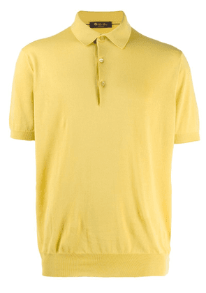 Loro Piana knit polo shirt - Yellow