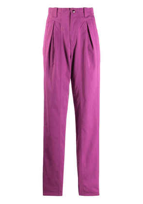 Isabel Marant high waist trousers - Purple