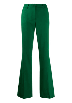 P.A.R.O.S.H. flared tailored trousers - Green