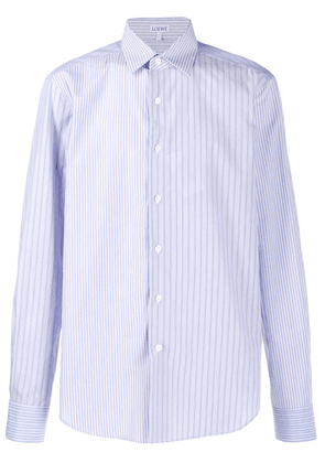 Loewe long sleeves striped shirt - Blue