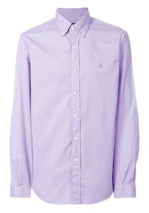 Ralph Lauren logo embroidered shirt - Pink