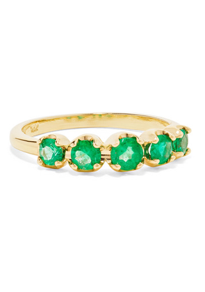 Jennifer Meyer - 18-karat Gold Emerald Ring - 6