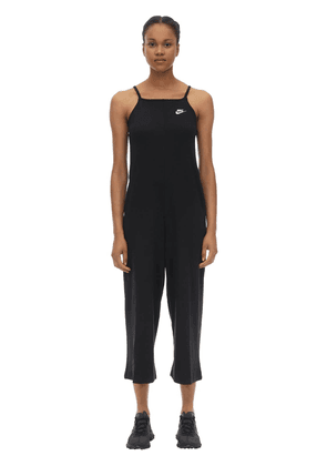 Cotton Blend Jersey Jumpsuit
