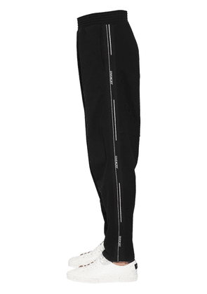 Cotton Track Pants W/ Logo Side Bands
