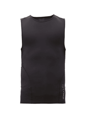 2xu - Cross Training Performance Tank Top - Mens - Black Multi