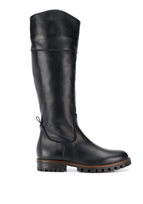 Anna Baiguera knee-length boots - Black