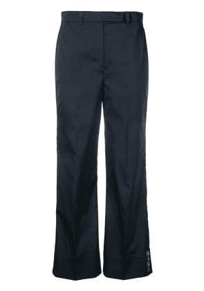 'S Max Mara cropped straight-leg trousers - Blue
