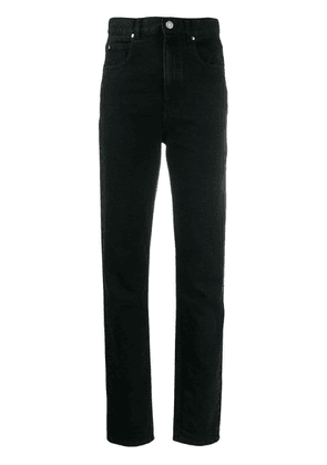 Isabel Marant high waisted jeans - Black