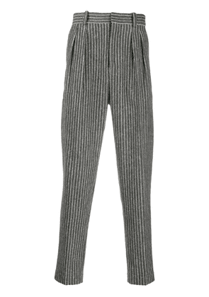 Isabel Marant pinstripe tailored trousers - Grey