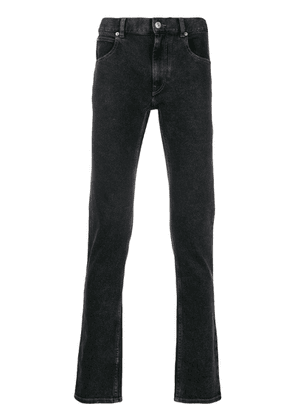 Isabel Marant straight-leg faded-effect jeans - Black