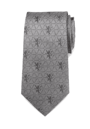 Game of Thrones Lannister Geometric Sigil Silk Tie