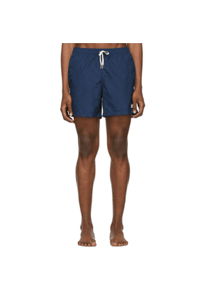 Bather Navy Solid Swim Shorts