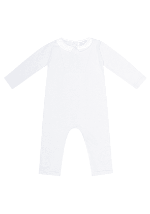 Cotton knit onesie