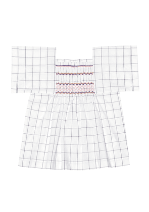 Pays checked cotton top