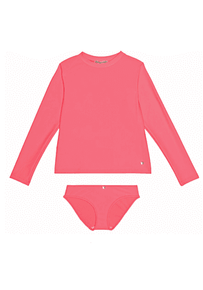 Long sleeved swimsuit set