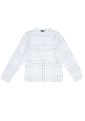 Artiste checked cotton shirt