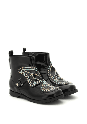 Karina leather ankle boots