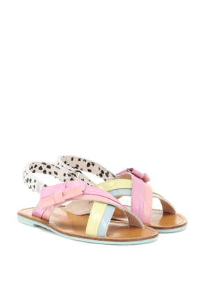 Andi Bow leather sandals
