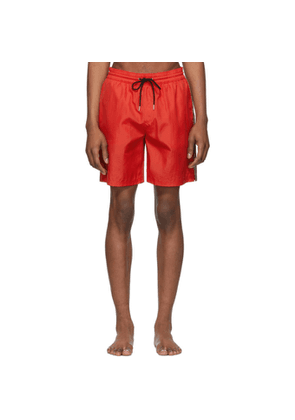 Burberry Red Grafton Swim Shorts