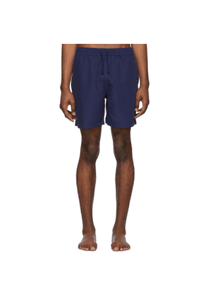 Carhartt Work In Progress Blue Chase Swim Shorts