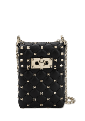 Spike Mini Leather Phone Case Bag
