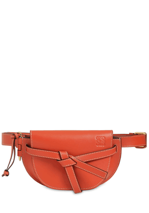 Mini Gate Leather Belt Bag
