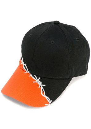 Heron Preston barbed wire cap - Black