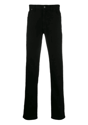 Fendi straight-leg jeans - Black
